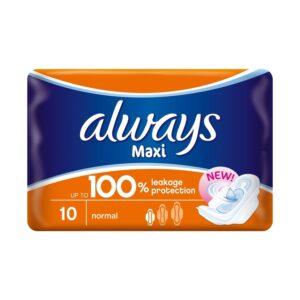 Always Sanitary Pads Maxi Plus
