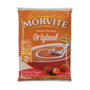 Morvite Porridge Strawberry