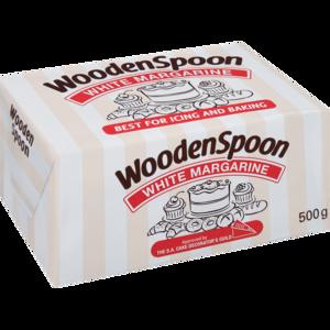 Wooden Spoon White 500g