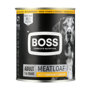 Boss Canned Dog Food Chiefs Chicken