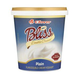 Clover Bliss Double Cream Plain Yoghurt 1kg