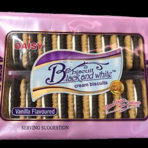 Daisy Black & White Biscuits Vanilla