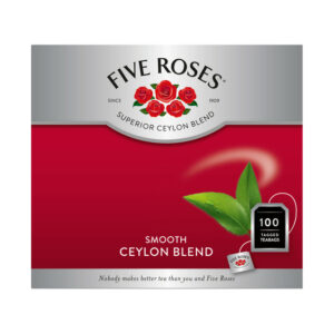 Five Roses Tagged Teabags 100