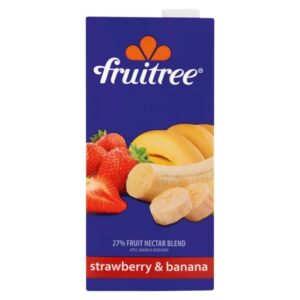 Fruitree Strawberry & Banana Fruit Nectar Blend
