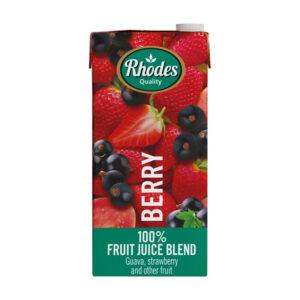Rhodes 100% Fruit Juice Blend Berry