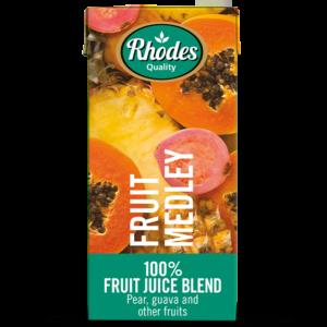 Rhodes 100% Fruit Juice Blend Fruit Medley 1lt