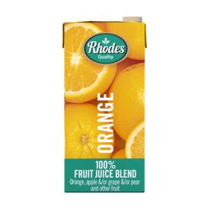Rhodes 100% Fruit Juice Blend Orange