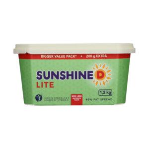 Sunshine D Lite 40% Fat Spread