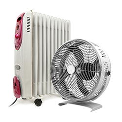 Fans, Heaters & Air Coolers