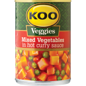 Koo Mixed Vegetables In Hot Curry Sauce