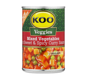 Koo Mixed Vegetables in Sweet & Spicy Sauce