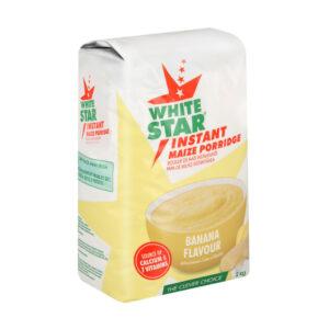 White Star Instant Maize Porridge Banana