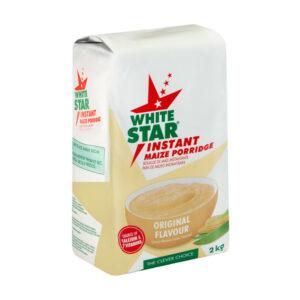 White Star Instant Maize Porridge Original