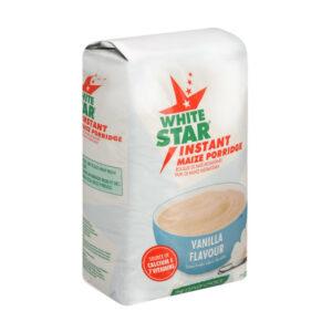White Star Instant Maize Porridge Vanilla