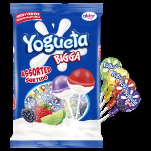 Yogueta Bigga Assorted Lollipops